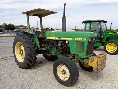 john-deere-1650-2wd-tractor-orops-canopy & john-deere-1650-2wd-tractor-orops-canopy | Catching Brothers ...