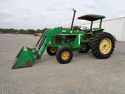 John-Deere-2840-2wd-ROPS-Tractor-with-Canopy-K-D-Loader & John-Deere-2840-2wd-ROPS-Tractor-with-Canopy-K-D-Loader ...