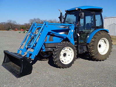 Ls Xu6168 Mfwd Tractor With Cagb Air 16 16 Shuttle Shift